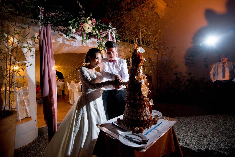 piece monté mariage a l'abbaye de talloires