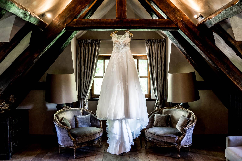 Robe de Mariée au Domaine des Saints Peres