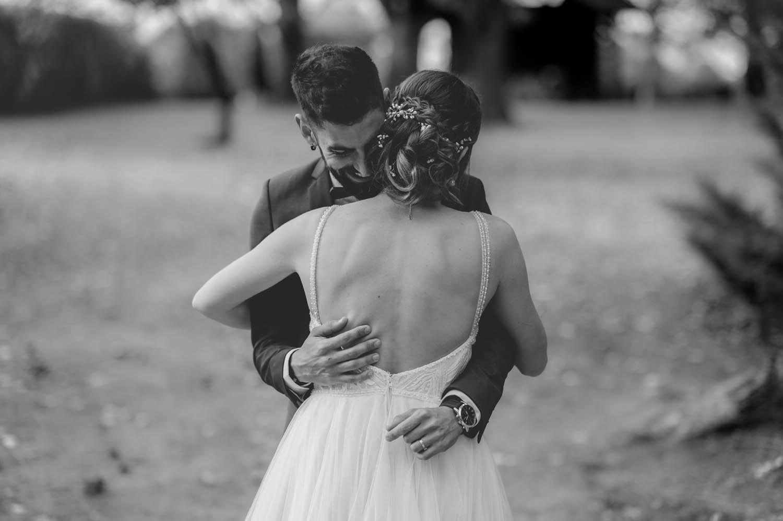 photo de mariage pleine d'emotion au clos de florie