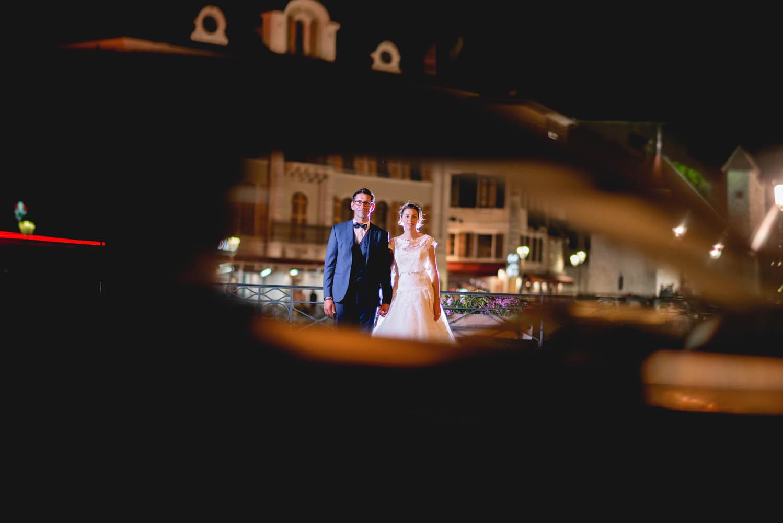 photo de mariage dans la ville d'annecy