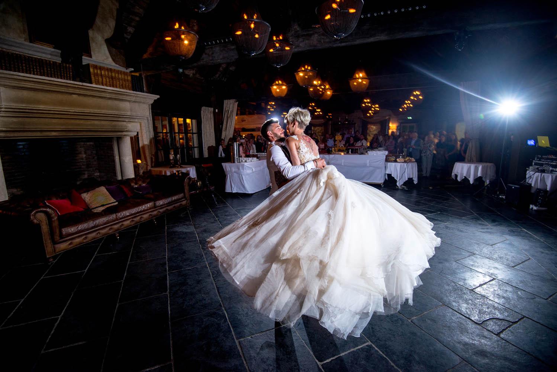 Premiere dance des mariés au domaine des Saints Pères